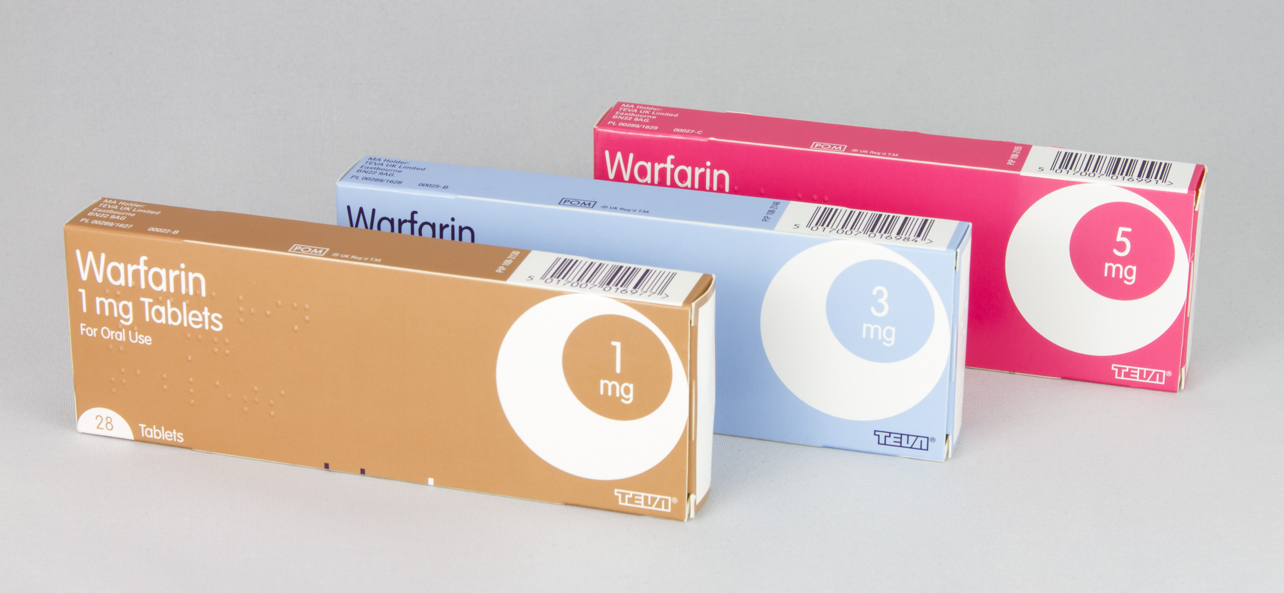 Increase the warfarin again ………..