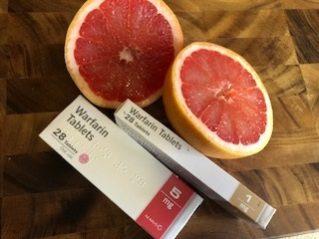 Grapefruit and Warfarin Interaction